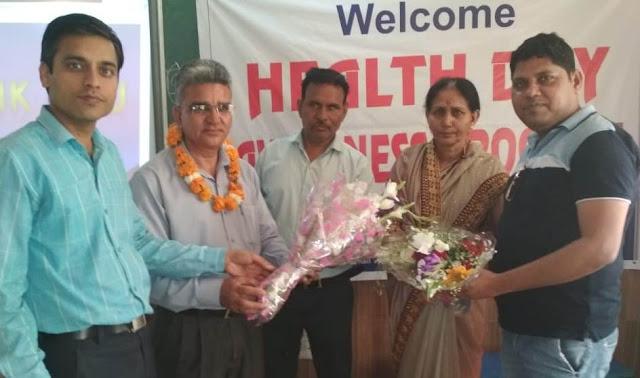 Health Awareness Program by Janseva Vahini Society on World Health Day
