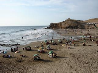 Resultado de imagen para playa de hornillos huacho