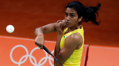 India's Badminton Star PV Sindhu Enters Final and Assured a Medal