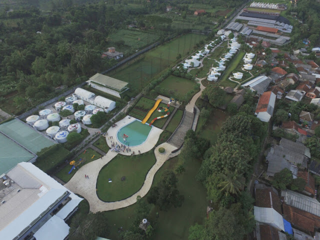 luas area highland park resort hotel bogor