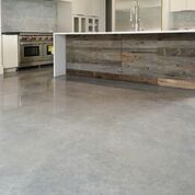 Simple. Cool. Clean. Grey. Flooring.