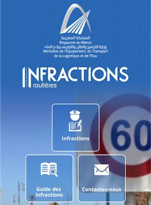 Consulter les infractions routières enregistrés sur votre permis de conduire et votre voiture au Maroc