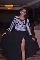 Akshatha in a lovely Leg Split Black Gown Cross legged Latest Stills 18.JPG