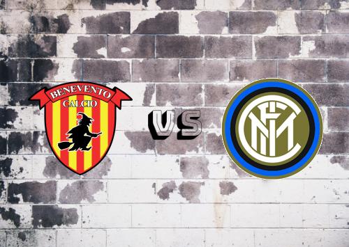 Benevento vs Internazionale  Resumen y Partido Completo