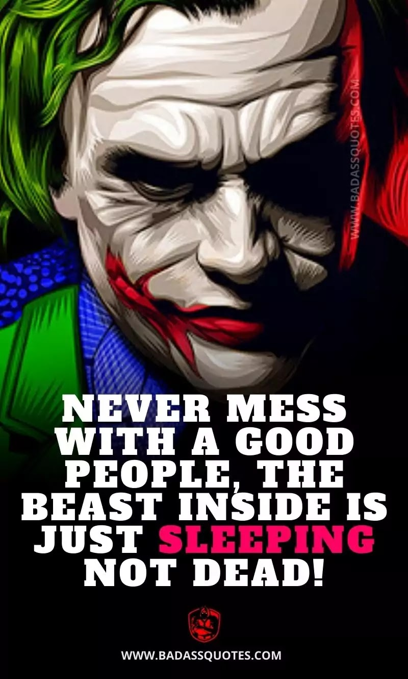 Joker Quotes on Life