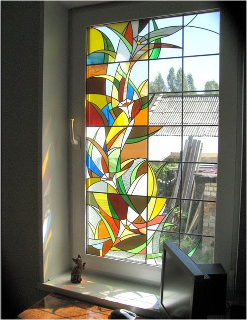 Window decorations, The best ideas for window decor, stained glass window