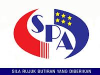 Jawatan Kosong Terkini Suruhanjaya Perkhidmatan Awam (SPA) | Tarikh Tutup: 09 Jun 2019