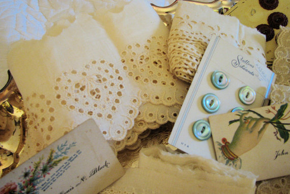 Shabby Chic Items For Your Altered Art