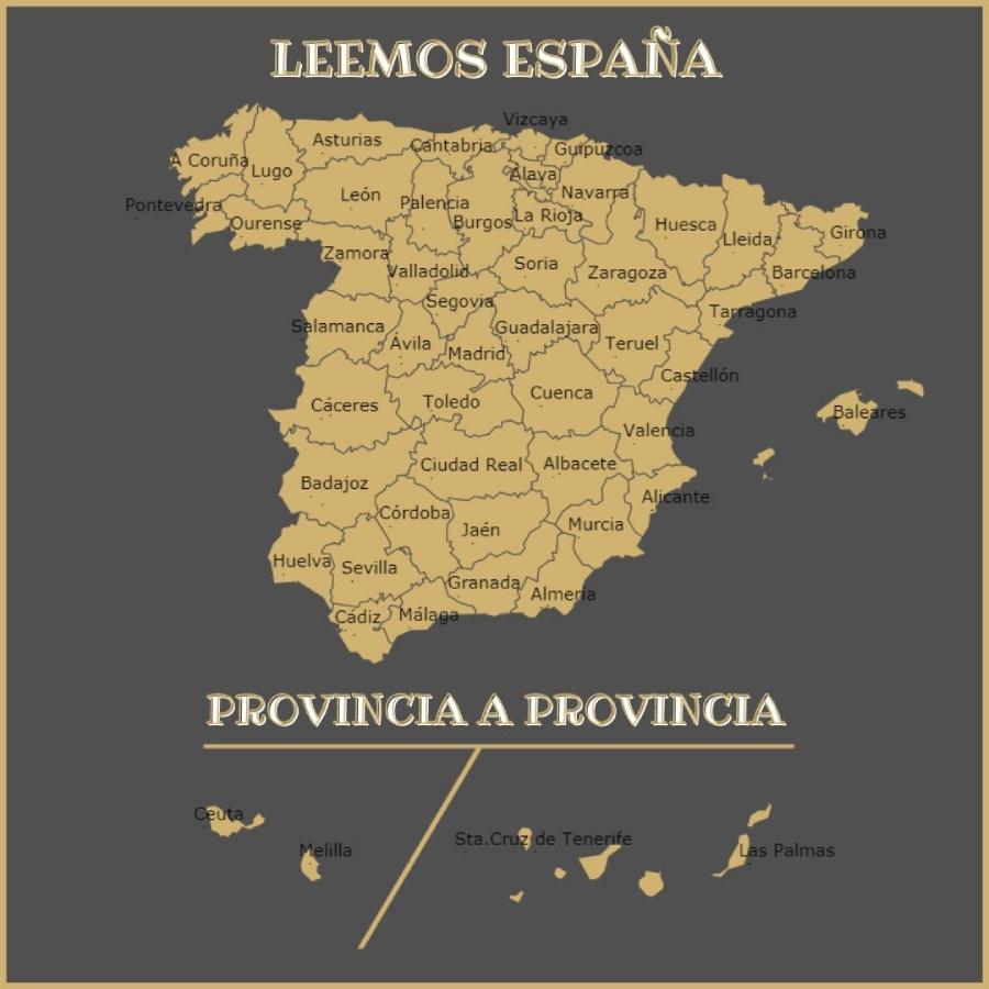 RETO Leemos España provincia a provincia  2021 — ELEEA books