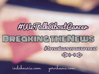 #wetalkaboutcancer, #breastcancerawareness, anak, memberi tahu, kanker