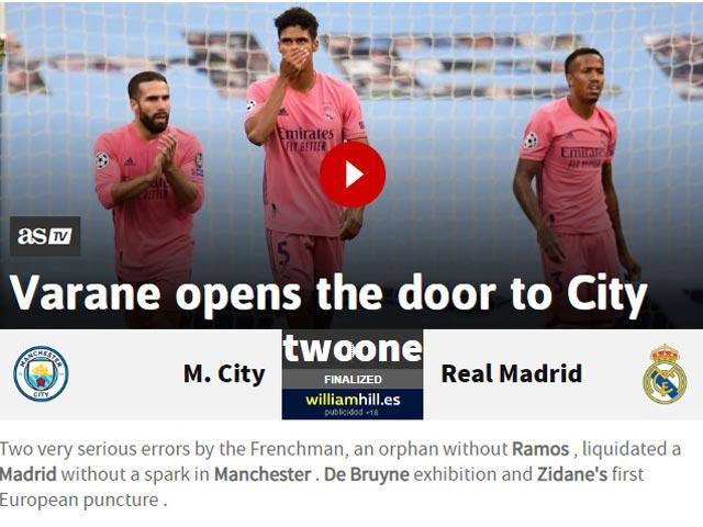 """Man City hạ bệ """"cựu vương"""" Real: Báo Anh mơ chức vô địch Champions League 3"""