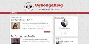 Free Download OgbongeBlog Blogger Template