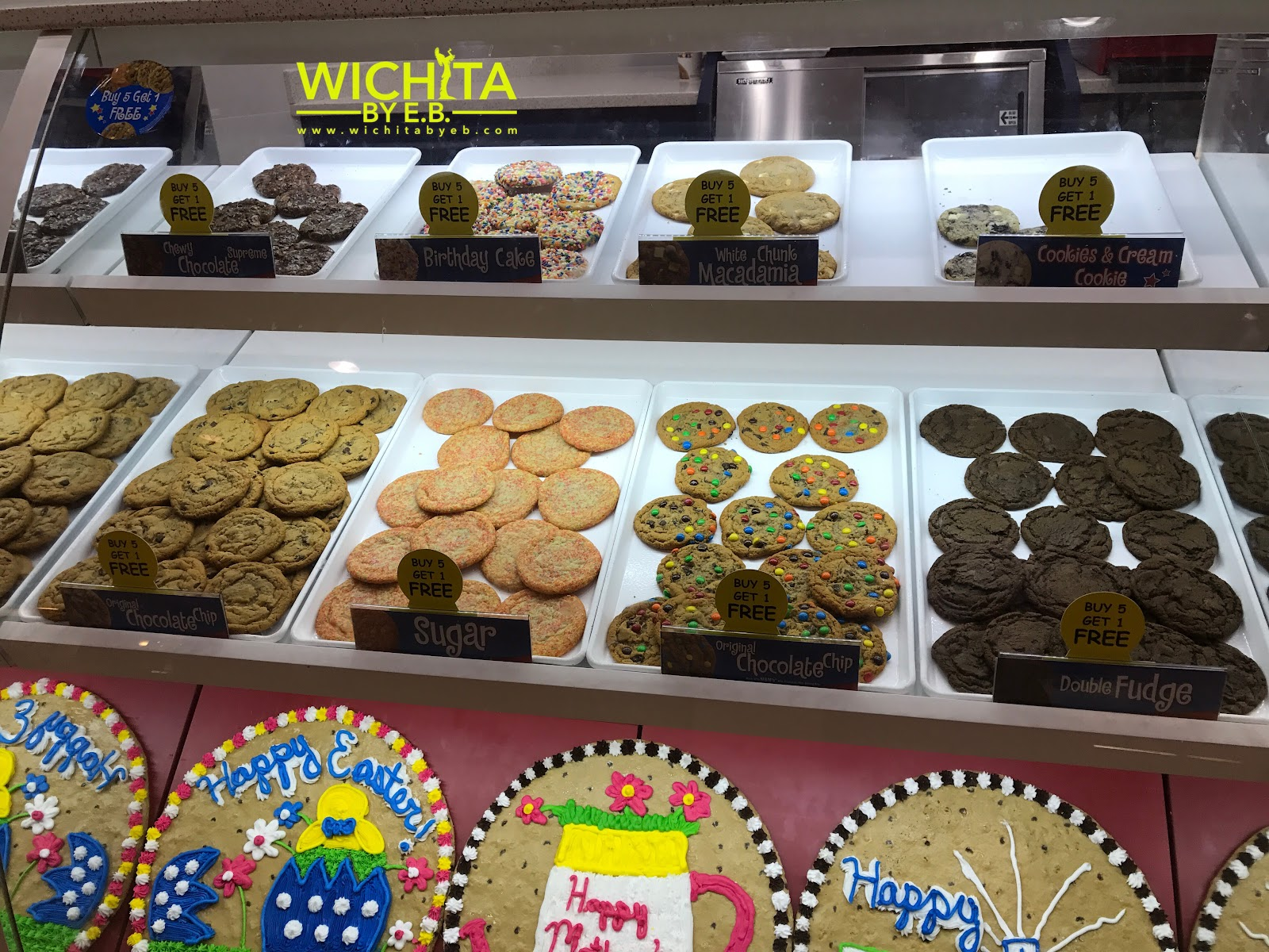 For Those Who Like To Keep It Local Great American Cookie Is A National Franchise With Just One Location In Town