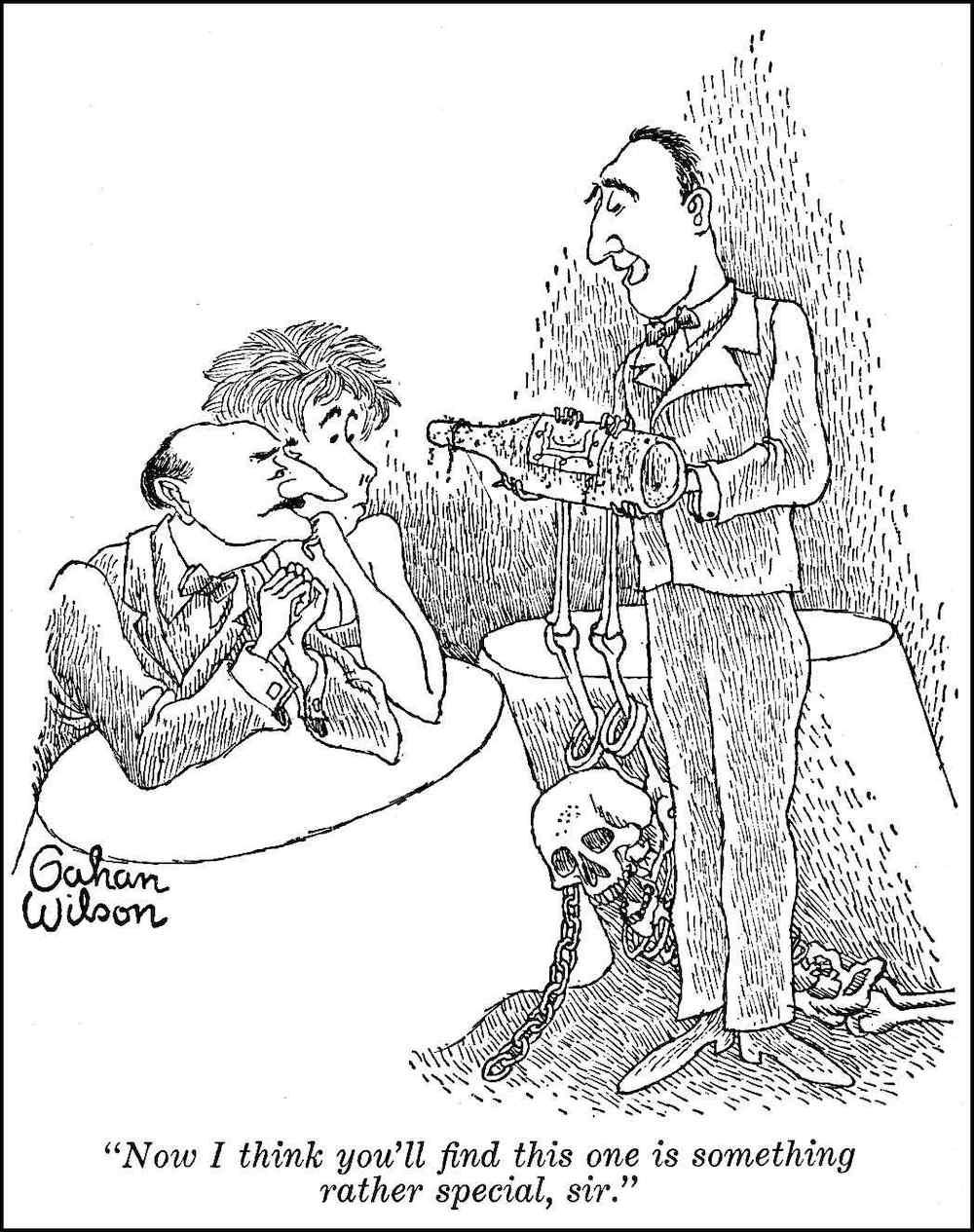 a Gahan Wilson cartoon
