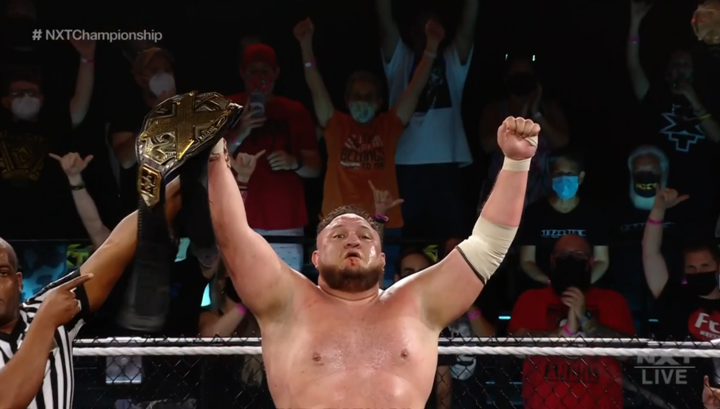 Samoa Joe conquista o NXT Championship