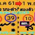 มาแล้ว...เลขเด็ดงวดนี้ 2ตัวตรงๆ หวยทำมือ แม่นมากคู่โต๊ด งวดวันที่1/11/61