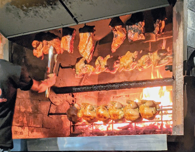 What to eat in Costa Rica: Rotisserie Chicken at Pollo Fortuneño