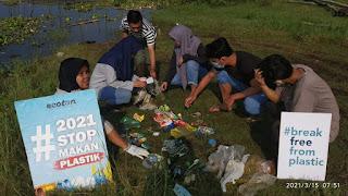 Environmental Green Society Gelar Brand Audit Sampah Plastik