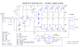 SOCL 500 Watt circuit scheamatic