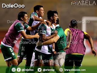 Paredes le salva el pellejo a Keko, Gómez y Duk - Oriente Petrolero - DaleOoo - Copa Conmebol Libertadores - Miabela