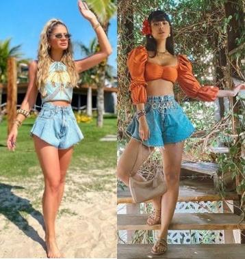 5 Tendências de moda para apostar, Saia godê, Thássia Naves, Gabriela Sales rica de marré