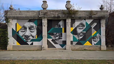 João Samina's murals at Edonè are impressive