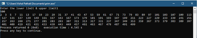 Prime Numbers - How to find prime number in c program?