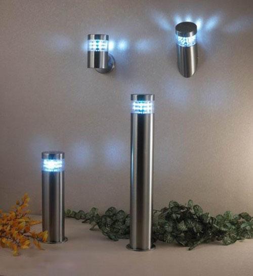 decor 2013 Modelos de iluminação modernos para Jardim