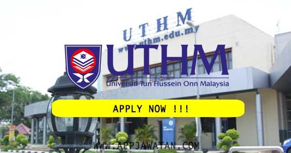 Jawatan Kosong Kerajaan di Universiti Tun Hussein Onn Malaysia (UTHM)