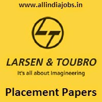 L T Placement Papers Pdf Download 2017 2018 Aptitude Reasoning