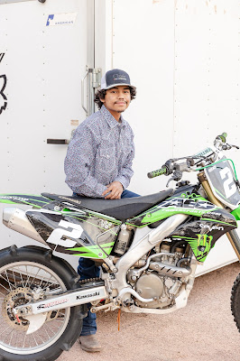 2021 HS Senior with dirtbike