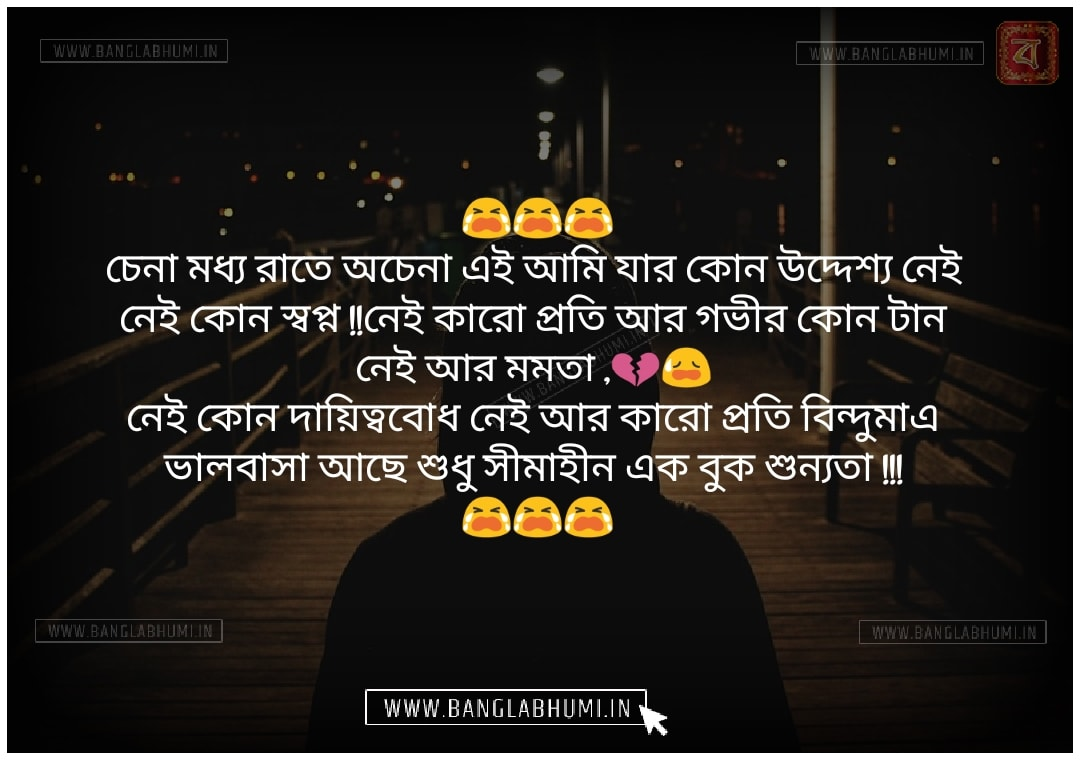 Facebook Bangla Sad Love Status share