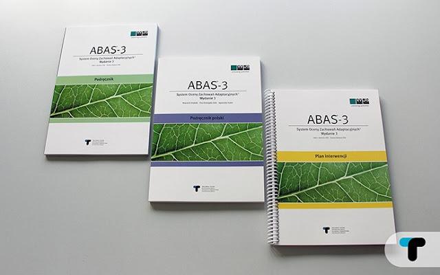 Zdjęcie podręczników System Oceny Zachowań Adaptacyjnych ABAS-3