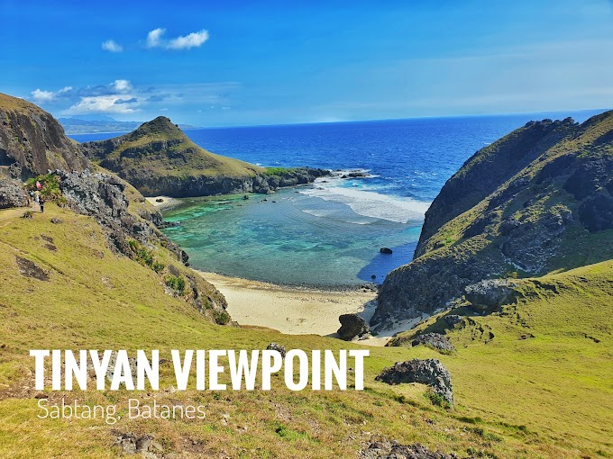 Chamantad Cove and Tinyan Viewpoint