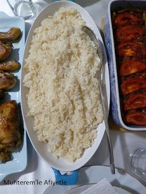 pirinç pilavı resmi