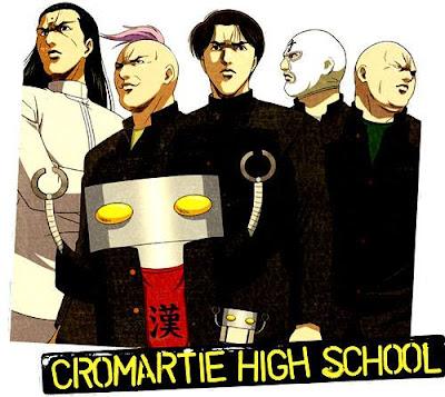 Cromartie High School - Anime comedy yang lucu kocak dan ngakak untuk dilihat