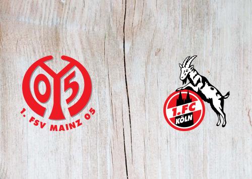 Mainz 05 vs Köln -Highlights 25 October 2019