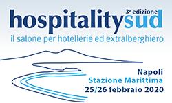 A Napoli la 3a edizione di HospitalitySud