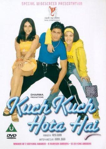 Poster Of Kuch Kuch Hota Hai 1998 720p Hindi BRRip Full Movie Download