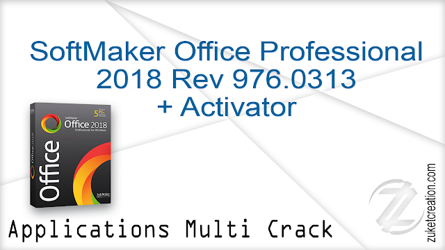 SoftMaker Office Professional 2018 Rev 976.0313 + Activator