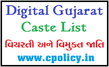 CASTE LIST FOR NT/DNT CATEGORY IN PDF DOWNLOAD