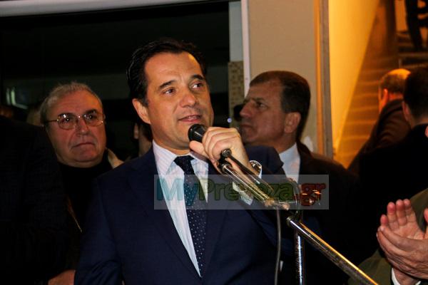 """Πρέβεζα: Άδωνις Γεωργιάδης για κυβέρνηση ΣΥΡΙΖΑ - """"Δεν έχουν Τσίπα.Ξεφτίλες εντελώς"""" (ΒΙΝΤΕΟ)"""