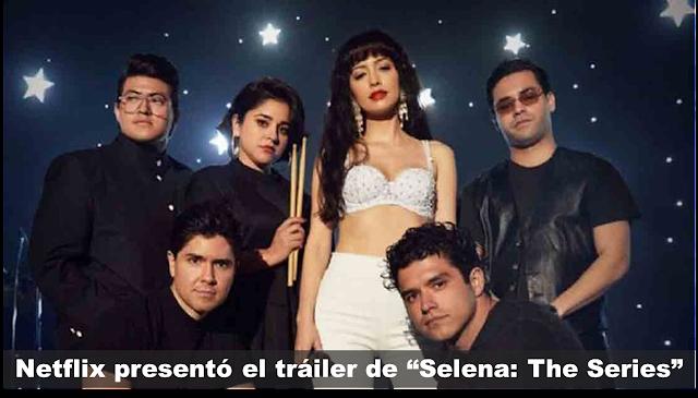 "Netflixpresentó el tráiler de""Selena: The Series"""