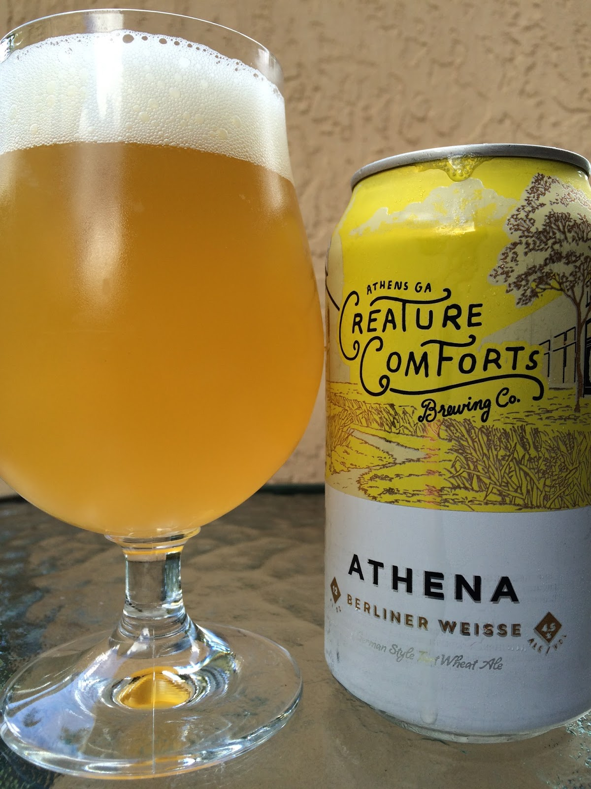 daily beer review athena berliner weisse. Black Bedroom Furniture Sets. Home Design Ideas