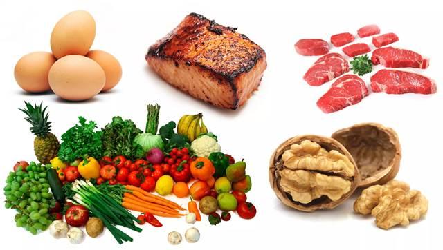 Alimentos y nutrientes a consumir por cada edad
