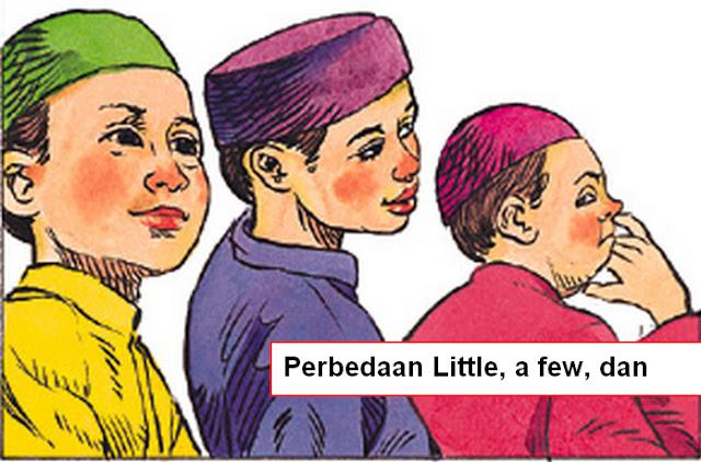 Perbedaan Little, a few, dan few Beserta Contohnya