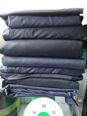 Set 30kg vải quần tây, chất vải dày vừa, mịn. Vải may quần tây, áo vest đều được
