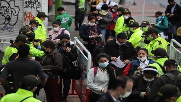 Brasil, Chile y Ecuador lideran contagios de Covid-19 en Latinoamerica