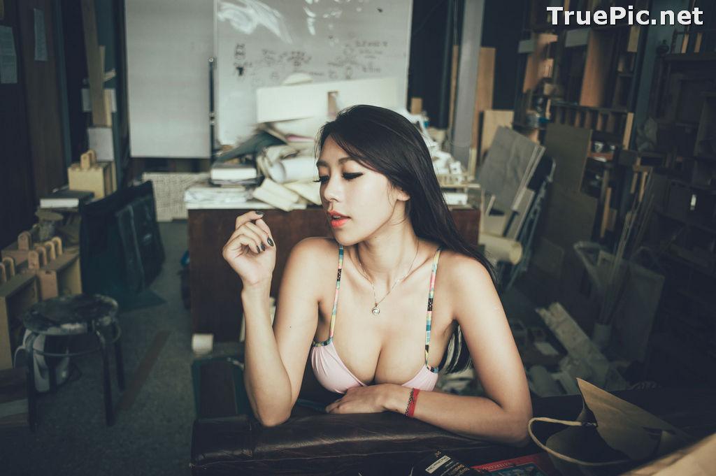 Image Taiwanese Model - 魏曼曼 (Amanda) - Bikini In The Room - TruePic.net - Picture-7