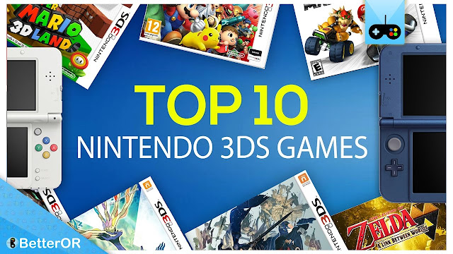 The 10 Best 3DS Games of All-Time